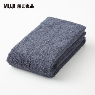 【MUJI 無印良品】棉圈絨面用巾/薄型(共2色)