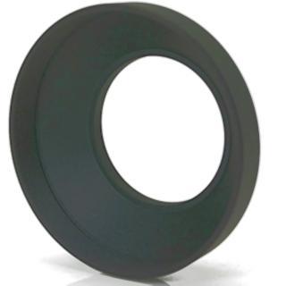 【PeiPei】圓筒型金屬廣角遮光罩62mm(遮光罩 遮陽罩 太陽罩)