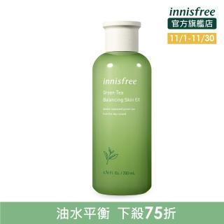 【innisfree】綠茶水平衡調理液 200ml