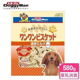【Doggy Man】犬用厚乳消臭餅乾 經濟包 580g