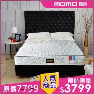 【睡芝寶】正反可睡-3M防潑水抗菌蜂巢獨立筒床墊(單人3.5尺-小孩/長輩/體重重專用)
