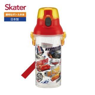 【Skater】直飲透明水壺480ml(閃電麥昆RACE)