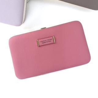 【RH】韓版粉系女用手機錢包盒(外層柔軟手感 內層堅固牢靠)