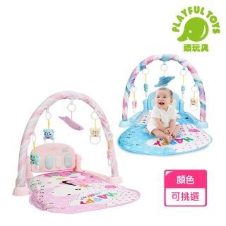 【Playful Toys 頑玩具】嬰兒腳踏鋼琴(健身架 健力架)