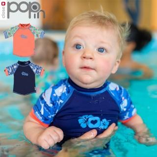 【英國Close】Pop-in 嬰兒游泳上衣/短袖(UPF50+防曬)