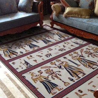 【范登伯格】紅寶石輕柔絲質感地毯-埃及(160x230cm)