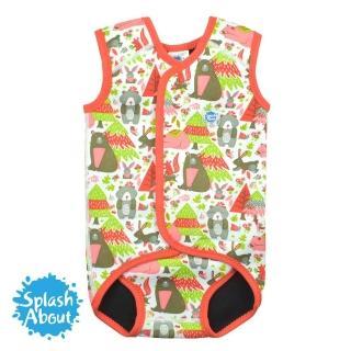 【Splash About 潑寶】包裹式保暖泳衣(森林遊樂園)