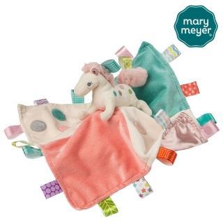【Mary Meyer】標籤親膚安撫巾-彩虹小馬(彌月 新生兒 送禮 沙沙紙 奶嘴)