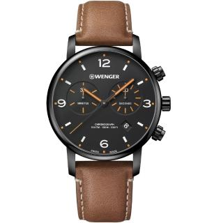 【WENGER 威戈】Urban Metropolitan都會時尚手錶(01.1743.113)