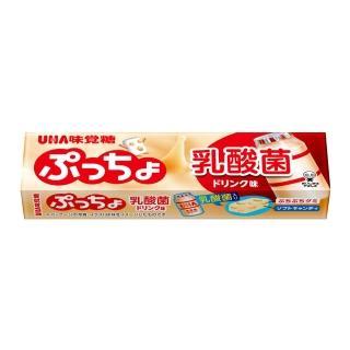 【UHA味覺糖】普超條糖-乳酸飲料味(50g)