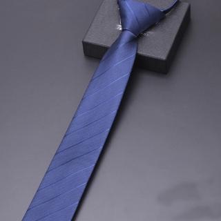 【拉福】歐美領帶6cm中窄版領帶拉鍊領帶(多色 可選色)