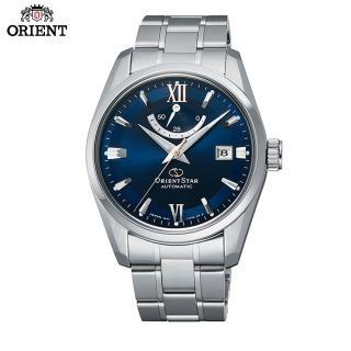 【ORIENT 東方錶】ORIENT STAR 東方之星 CLASSIC系列 經典動力儲存機械錶 鋼帶款(RE-AU0005L)