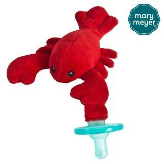 【Mary Meyer】玩偶安撫奶嘴『小龍蝦』+奶嘴專用盒(貼心超值組)
