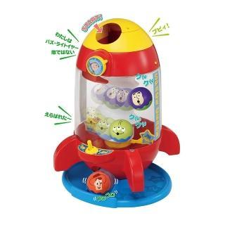 【TAKARA TOMY】玩具總動員火箭滾滾球遊戲組(迪士尼 幼兒)