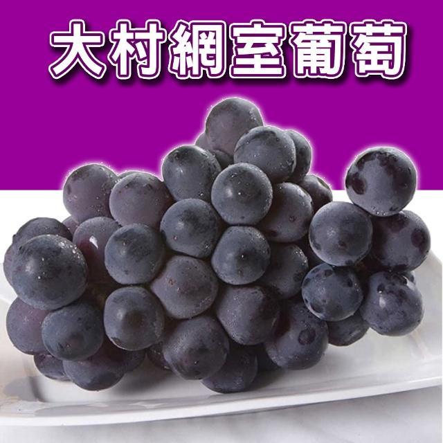 【台灣紅】彰化大村網室葡萄(4.5斤/箱)