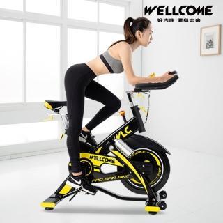 【well-come 好吉康】M6 磁控鑄鐵飛輪健身車(20KG飛輪/兩年保固/到府維修)