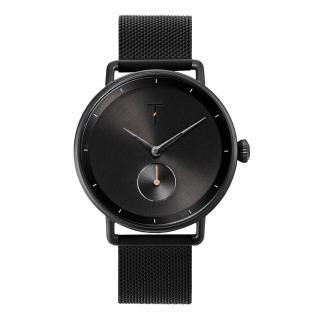 【TYLOR】復古黑時尚米蘭腕錶(TLAH006)