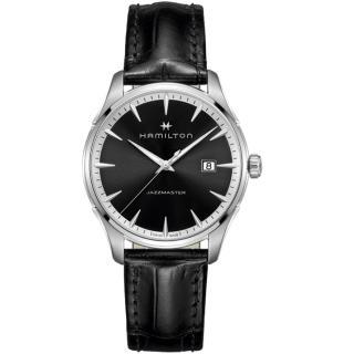 【HAMILTON 漢米爾頓】JAZZMASTER爵士系列摩登經典手錶(H32451731)