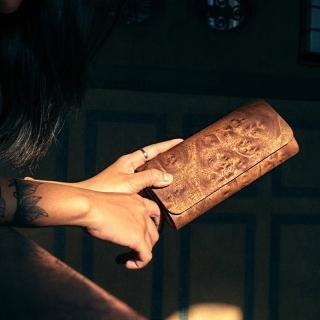 【PARSEC】樹革花樟長夾