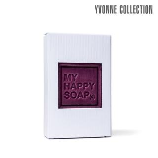 【Yvonne Collection】My Happy Soap 法國手工香皂- 黑醋栗 CASSIS(香水調香皂)
