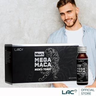 【GNC 健安喜】LAC 活力瑪卡飲10瓶(L-精胺酸/瑪卡/刺五加)