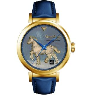 【Van Gogh 梵谷】梵谷經典名畫女錶(I-GLLH-07 標誌馬)