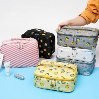 【TD 樂活】簡約時尚化妝收納包 洗漱包  - A款 / B款(旅行收納包)