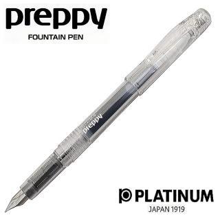 【PLATINUM白金牌】PSQC-400 preppy鋼筆-細字(透明)