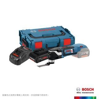 【BOSCH 博世】18V超核芯鋰電魔切機GOP 18V-28 4.0Ah工具箱套裝