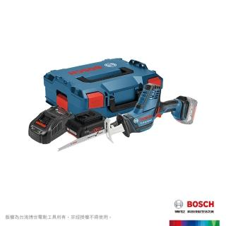 【BOSCH 博世】18V超核芯鋰電軍刀鋸GSA 18 V-LI C 4.0Ah工具箱套裝