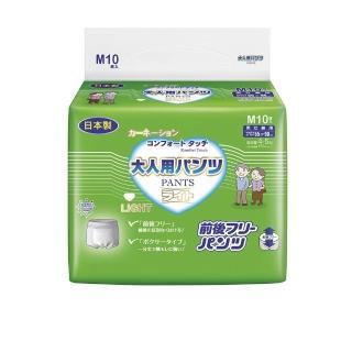 【康乃馨】健護成人機能型平口褲M號 整箱銷售 / 10片/包;8包/箱(不分前後機能型)