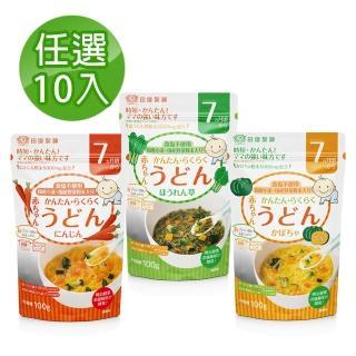 【新安琪兒】寶寶無鹽日式烏龍麵-7個月量販超值組(咀嚼進階訓練麵條)
