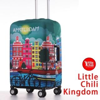 【LittleChili】行李箱套套522(阿姆斯特丹彩 M)