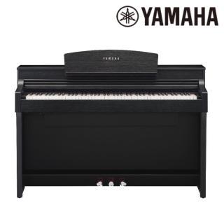 【YAMAHA 山葉】CSP-170 BK 頂級88鍵木頭琴鍵電鋼琴 經典黑木紋款(原廠公司貨 商品保固有保障)