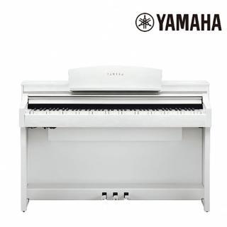 【YAMAHA 山葉】CSP-170 WH 頂級88鍵木頭琴鍵電鋼琴 典雅白色款(原廠公司貨 商品保固有保障)