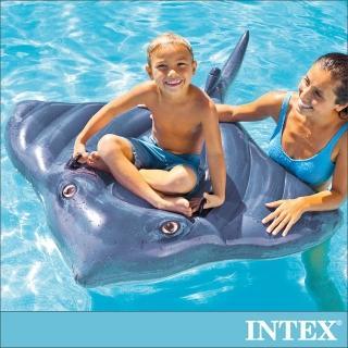 【INTEX】魟魚戲水浮排/水上坐騎_適用3歲以上(57550)
