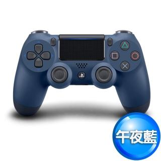 【SONY 索尼】PS4原廠DS4 光條觸碰板 無線震動手把(-午夜藍CUH-ZCT2G22)