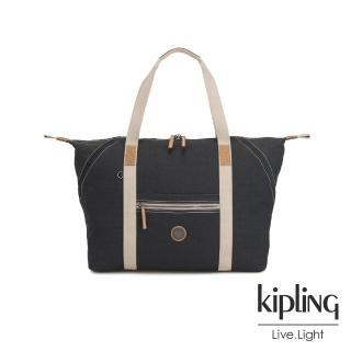 【KIPLING】城市探索霧灰手提側背包-ART M-EDGELAND系列