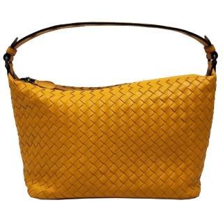 【BOTTEGA VENETA 寶緹嘉】547322 簡約Ciambrino肩背包(黃色)