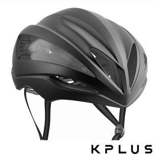 【KPLUS】單車安全帽S系列公路競速ULTRA Helmet-霧黑色(頭盔 公路車)