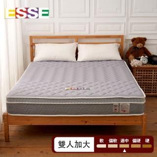 【ESSE 御璽】放鬆透氣獨立筒床墊(6x6.2尺-雙人加大尺寸)