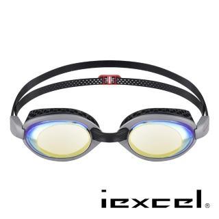 【iexcel】專業光學度數泳鏡 VX-956(蜂巢式 電鍍)