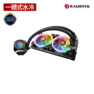 【RAIJINTEK】ORCUS 240 RBW RGB一體式液態散熱器-240mm