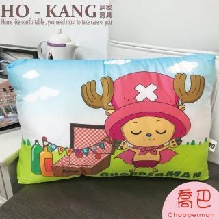 【HO KANG】正版授權 天絲可水洗童枕(航海王-喬巴)
