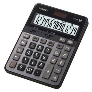 【CASIO 卡西歐】14位數頂級桌上型計算機(DS-3B)
