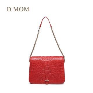 【DMOM】西班牙時尚名模鱷魚包(紅色)