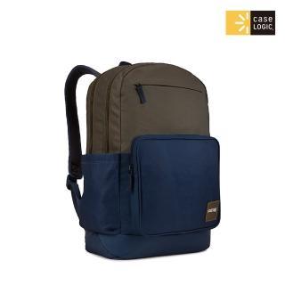 【Case Logic】★CAMPUS 29L筆電後背包(CCAM-4116-綠褐/深藍)
