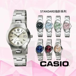 【CASIO 卡西歐】淑女繽紛指針錶系列(LTP-1241D)