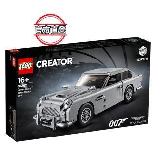 【LEGO 樂高】創意百變系列 James Bond Aston Martin DB5 10262 積木 跑車(10262)