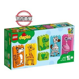 【LEGO 樂高】得寶幼兒系列 我的第一套趣味拼圖 10885 積木 幼兒(10885)